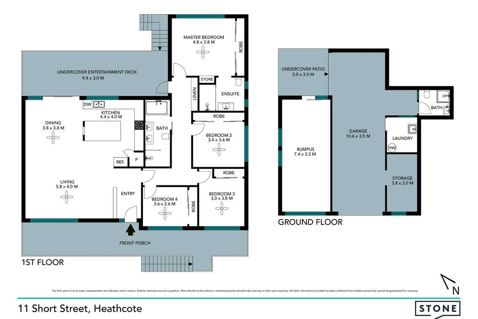Floorplan of Homely house listing, 11 Short Street, Heathcote NSW 2233