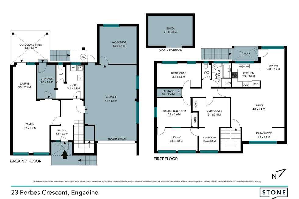 Floorplan of Homely house listing, 23 Forbes Crescent, Engadine NSW 2233