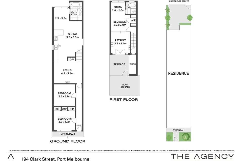 Floorplan of Homely house listing, 194 Clark Street, Port Melbourne VIC 3207