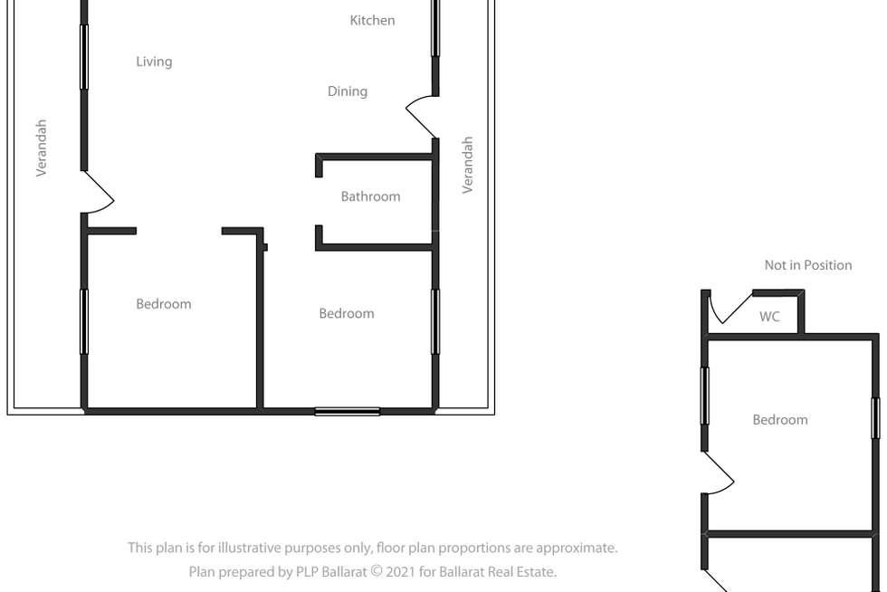 Floorplan of Homely house listing, 25 Gillespie Street, Linton VIC 3360