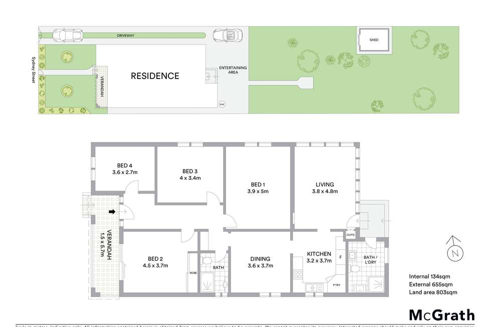 Floorplan of Homely house listing, 69 Sydney Street, Willoughby NSW 2068