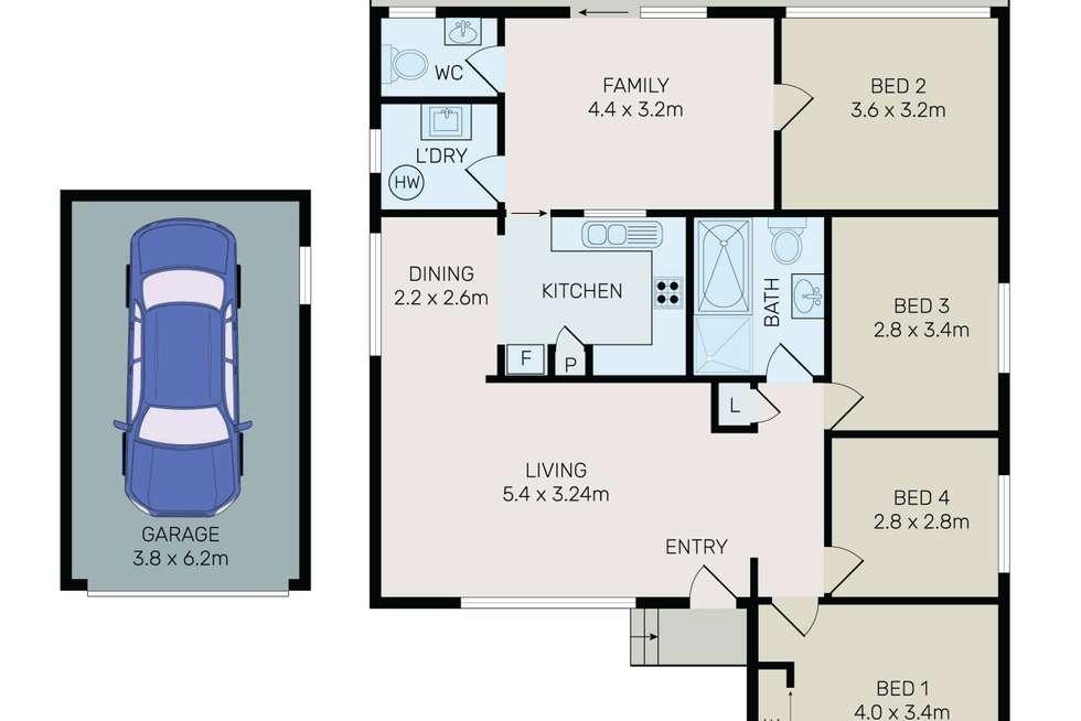 Floorplan of Homely house listing, 11 Heath Street, Granville NSW 2142