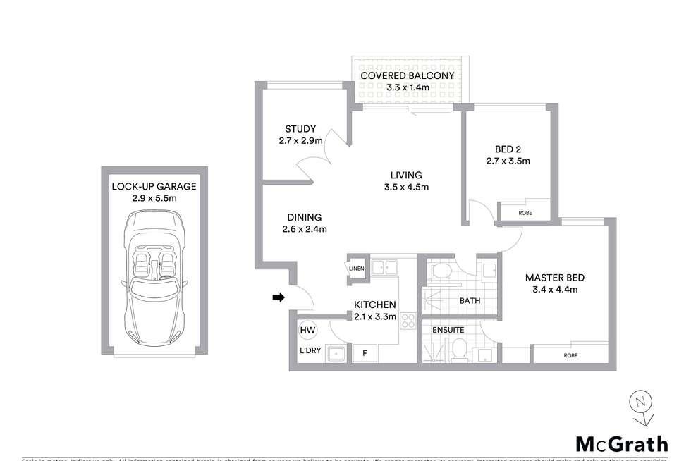 Floorplan of Homely apartment listing, 47/3 Ramu Close, Sylvania Waters NSW 2224
