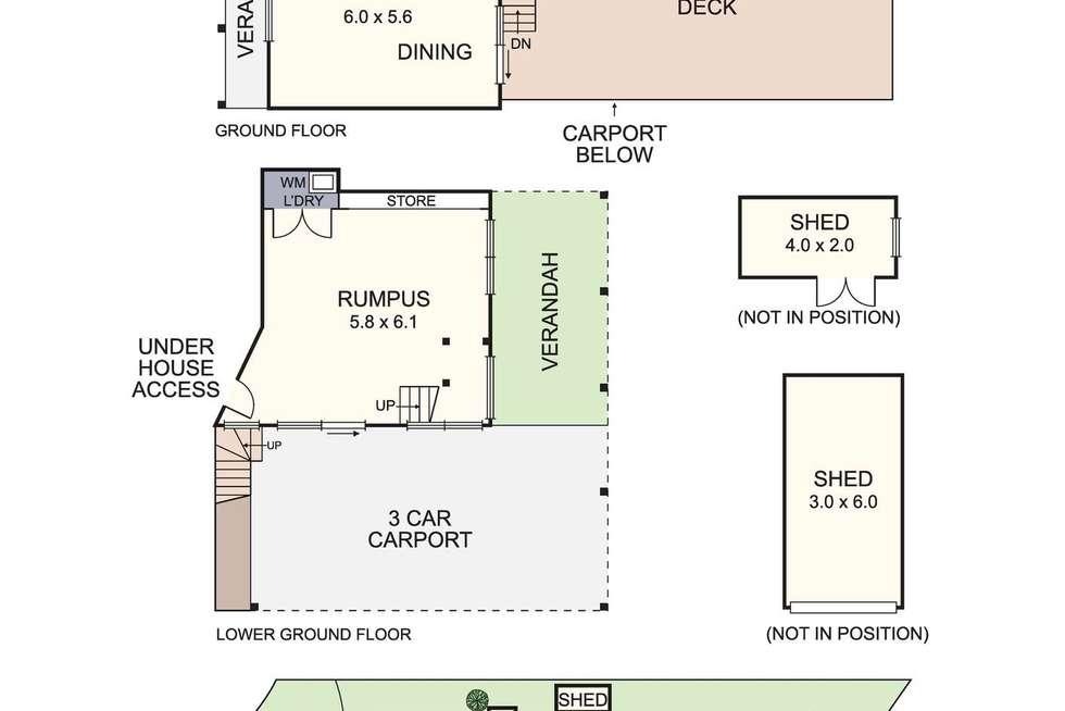 Floorplan of Homely house listing, 17 Felicia Rise, Diamond Creek VIC 3089