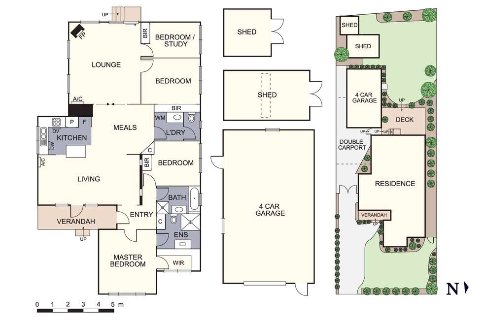 Floorplan of Homely house listing, 16 Mitchell Avenue, Boronia VIC 3155