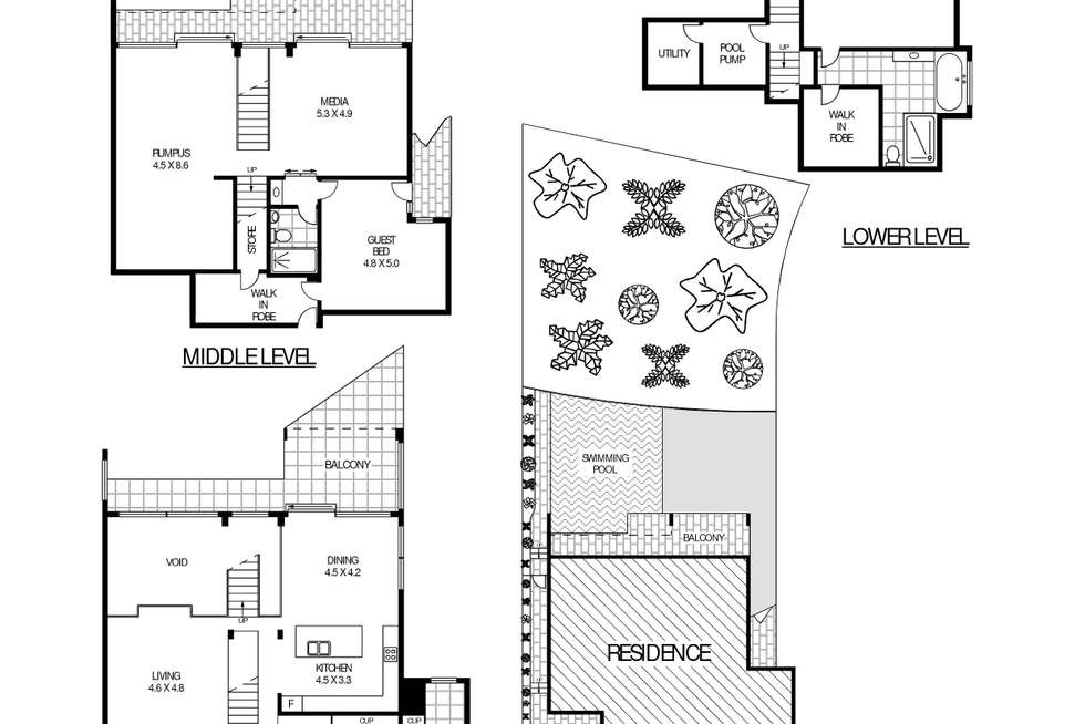 Floorplan of Homely house listing, 13 Seaside Parade, South Coogee NSW 2034