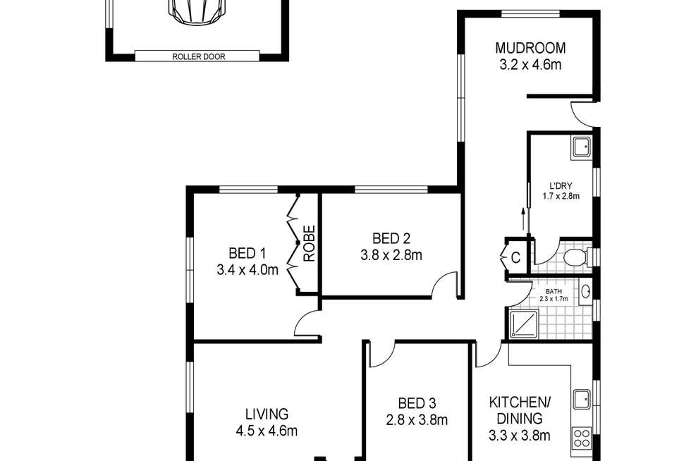 Floorplan of Homely house listing, 193 Percy Street, Portland VIC 3305