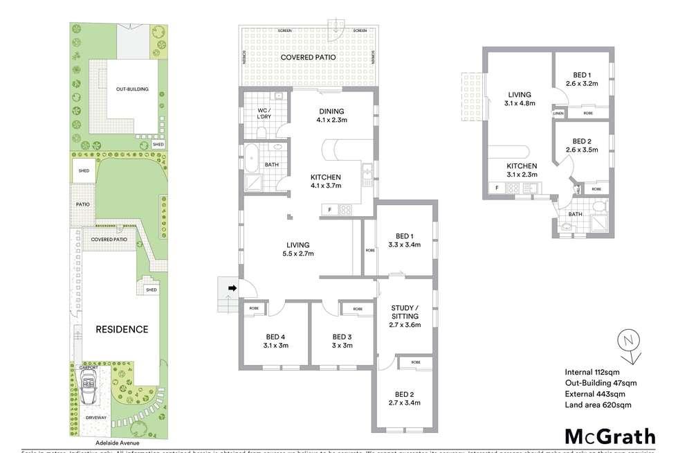Floorplan of Homely house listing, 36 Adelaide Avenue, Umina Beach NSW 2257
