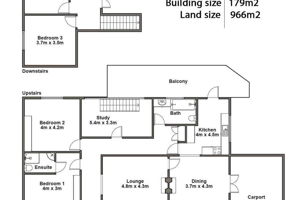 Floorplan of Homely house listing, 104 High Street, Newstead TAS 7250