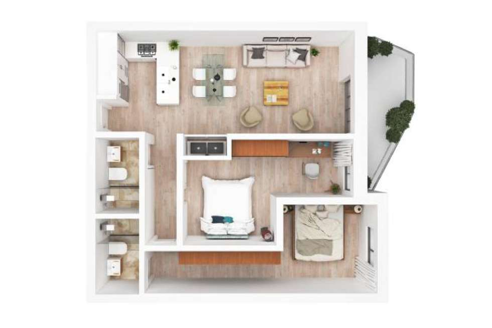 Floorplan of Homely apartment listing, 26/40-42 Barber Avenue, Penrith NSW 2750