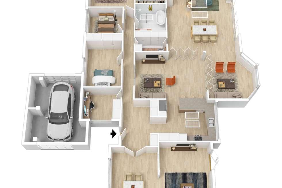 Floorplan of Homely house listing, 2 Glen Court, Novar Gardens SA 5040