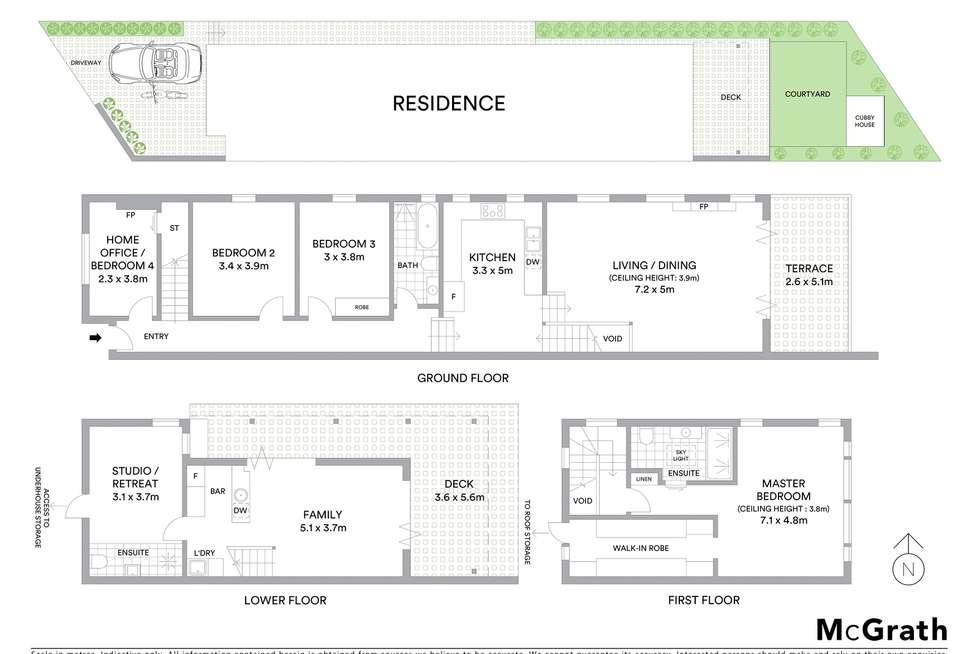 Floorplan of Homely house listing, 9 Fern Street, Waverley NSW 2024