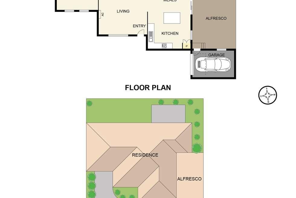 Floorplan of Homely unit listing, 2/80 Inglis Road, Berwick VIC 3806
