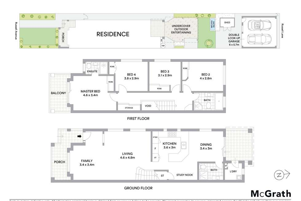 Floorplan of Homely house listing, 28 Russell Avenue, Sans Souci NSW 2219