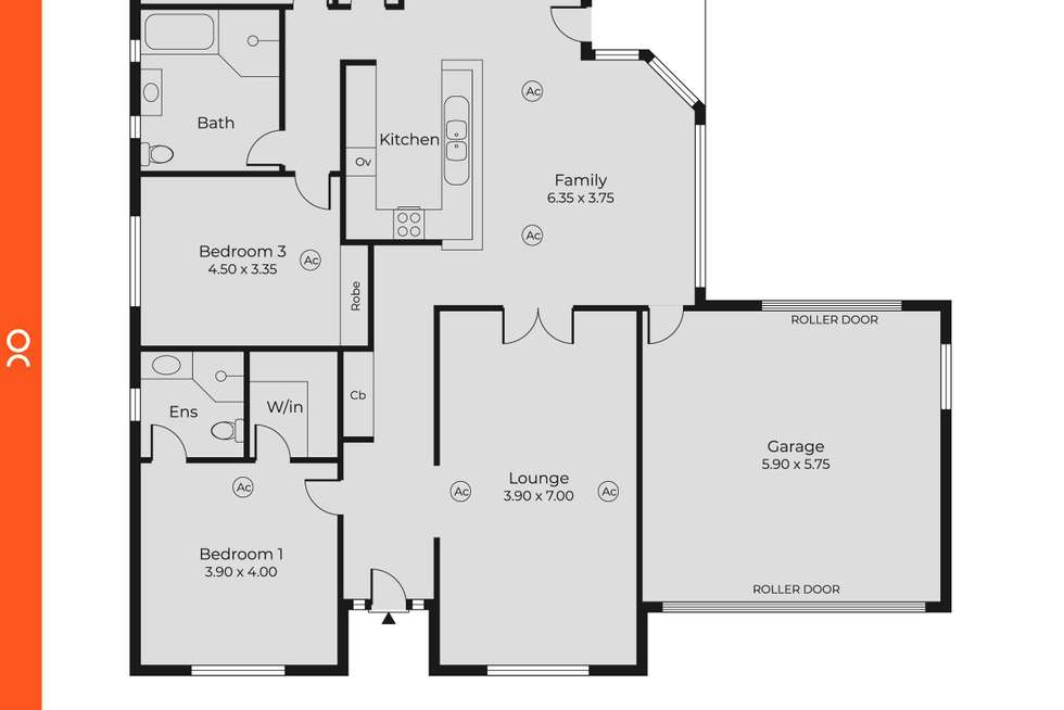 Floorplan of Homely house listing, 25 Rugby Street, Kingswood SA 5062