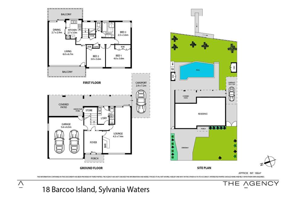 Floorplan of Homely house listing, 18 Barcoo Island, Sylvania Waters NSW 2224