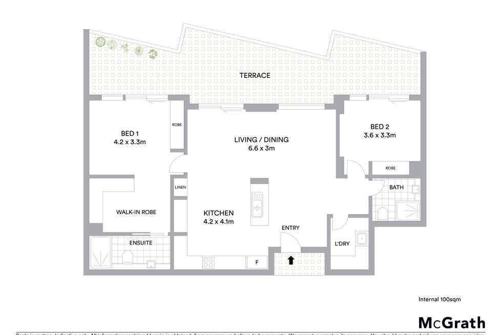 Floorplan of Homely apartment listing, 3/6-8 Hercules Street, Wollongong NSW 2500