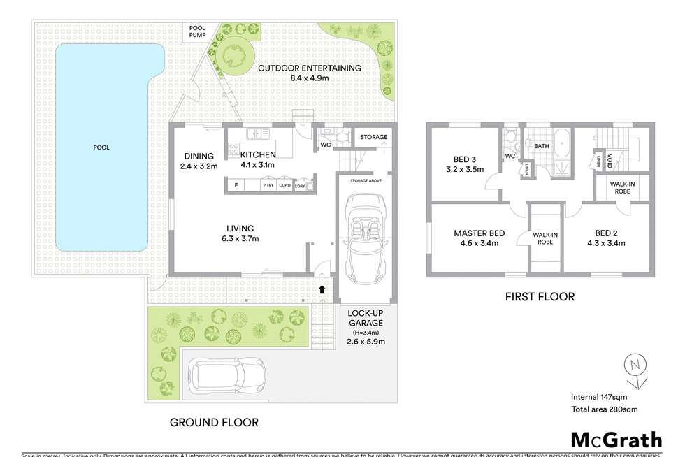 Floorplan of Homely apartment listing, 4/3-7 Luke Street, Hunters Hill NSW 2110