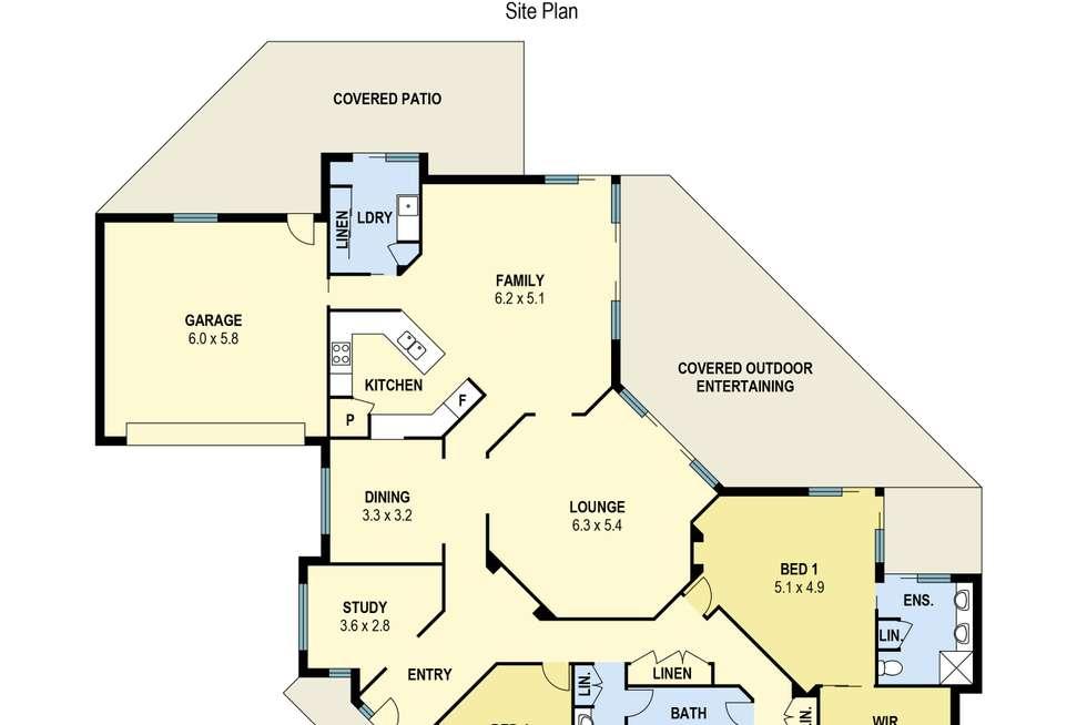 Floorplan of Homely house listing, 14 Endwood Court, Highvale QLD 4520