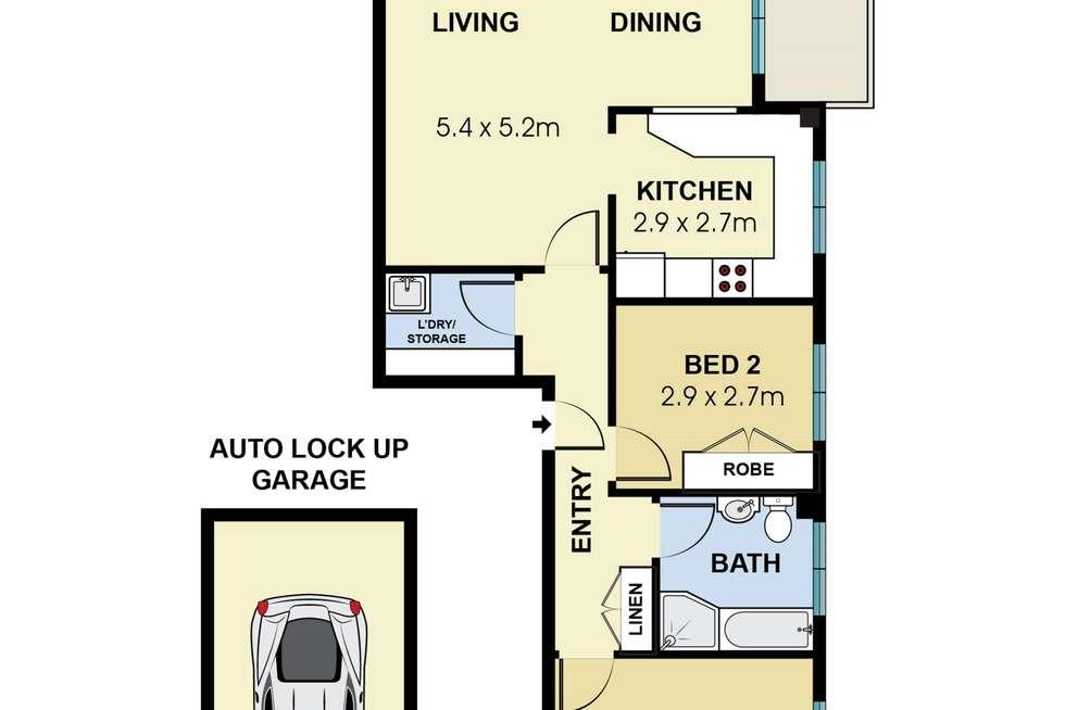 Floorplan of Homely unit listing, 12/20 Richmond Avenue, Dee Why NSW 2099