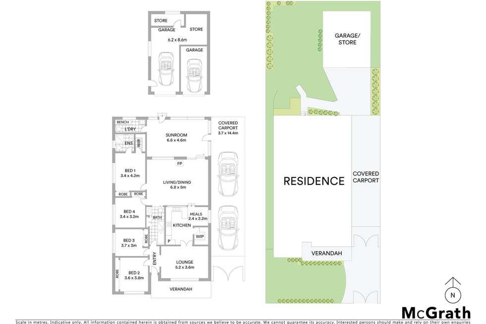 Floorplan of Homely house listing, 3 Killeen Street, Wentworthville NSW 2145