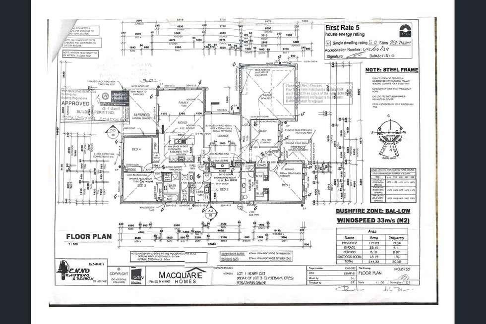 Floorplan of Homely house listing, 19 Henry Court, Strathfieldsaye VIC 3551