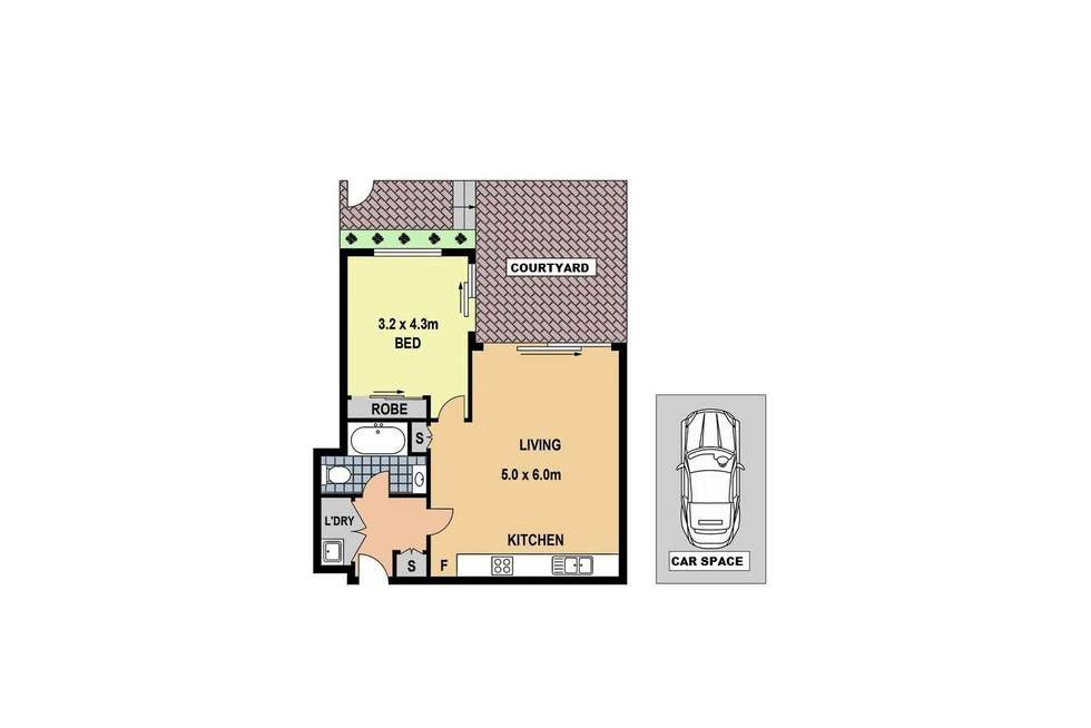 Floorplan of Homely apartment listing, 113/18 Marine Parade, Wentworth Point NSW 2127