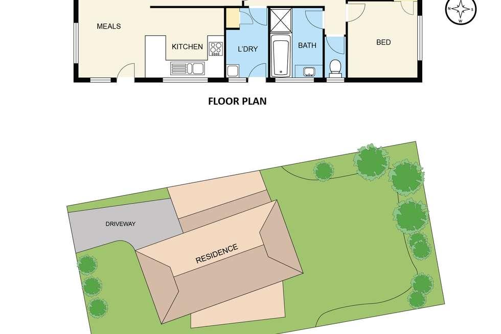 Floorplan of Homely house listing, 55 Amber Crescent, Narre Warren VIC 3805
