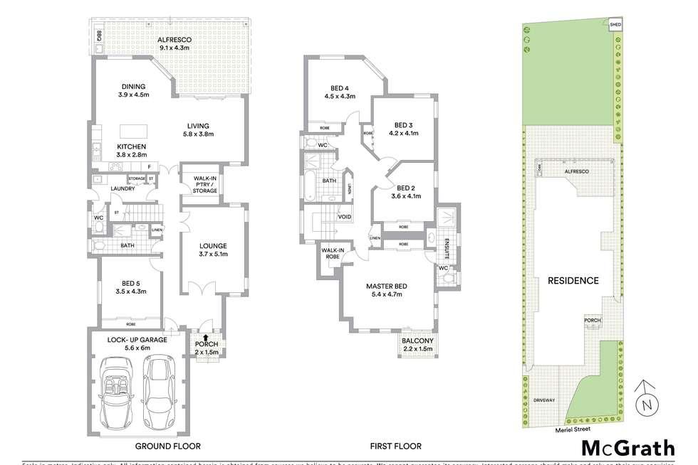 Floorplan of Homely house listing, 38 Meriel Street, Sans Souci NSW 2219