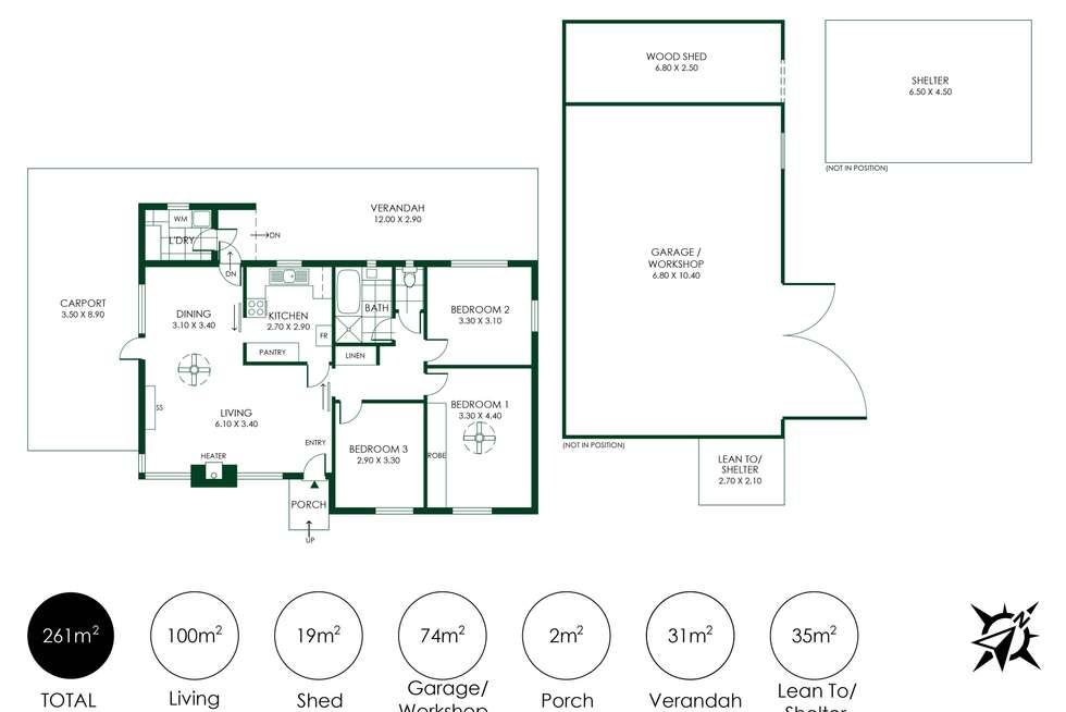 Floorplan of Homely house listing, 257 Onkaparinga Valley Road, Oakbank SA 5243