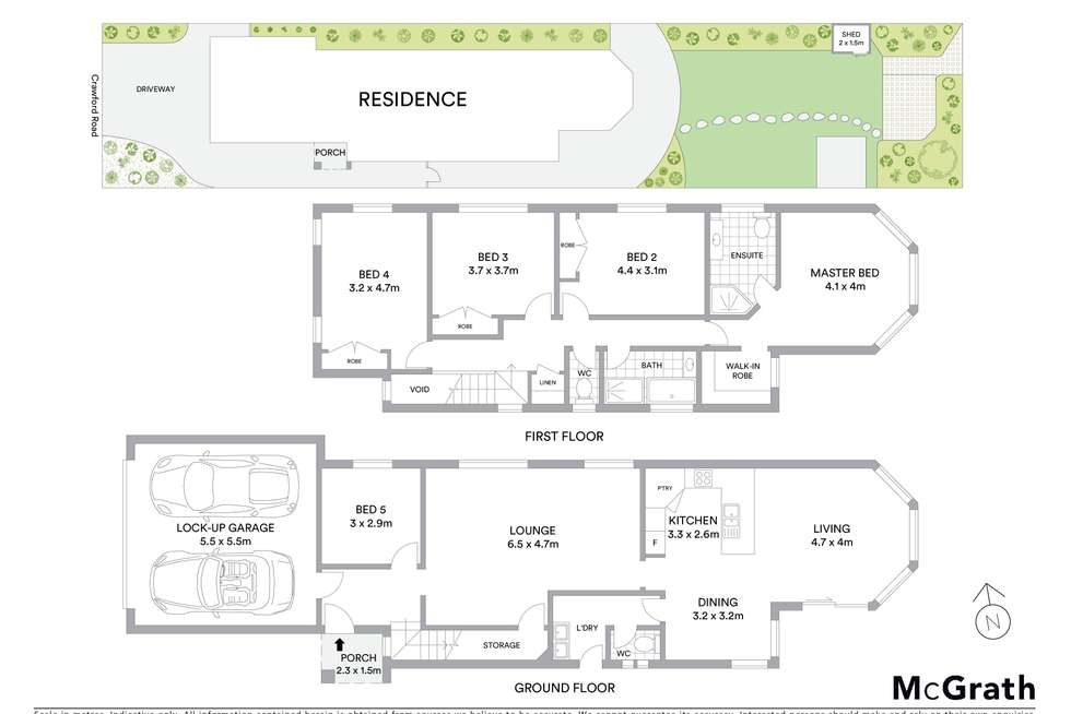 Floorplan of Homely house listing, 72 Crawford Road, Brighton-Le-Sands NSW 2216