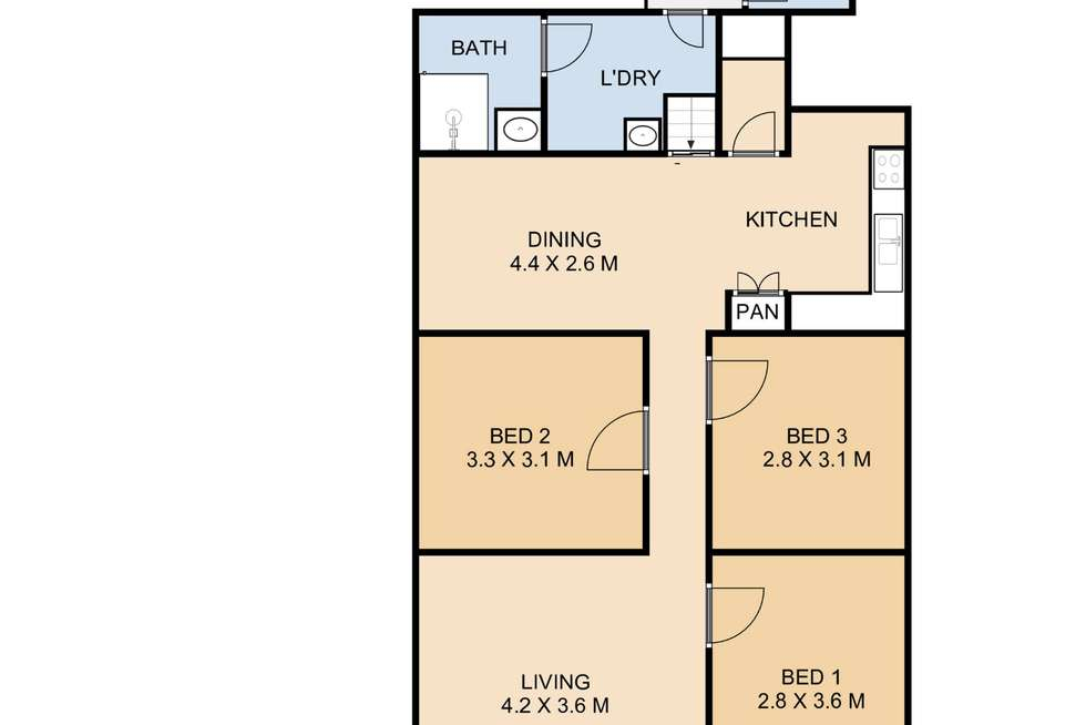 Floorplan of Homely house listing, 184 South Street, Centenary Heights QLD 4350