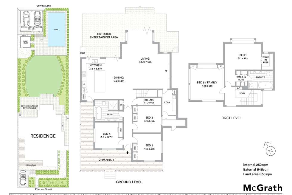 Floorplan of Homely house listing, 33 Princes Street, Hunters Hill NSW 2110