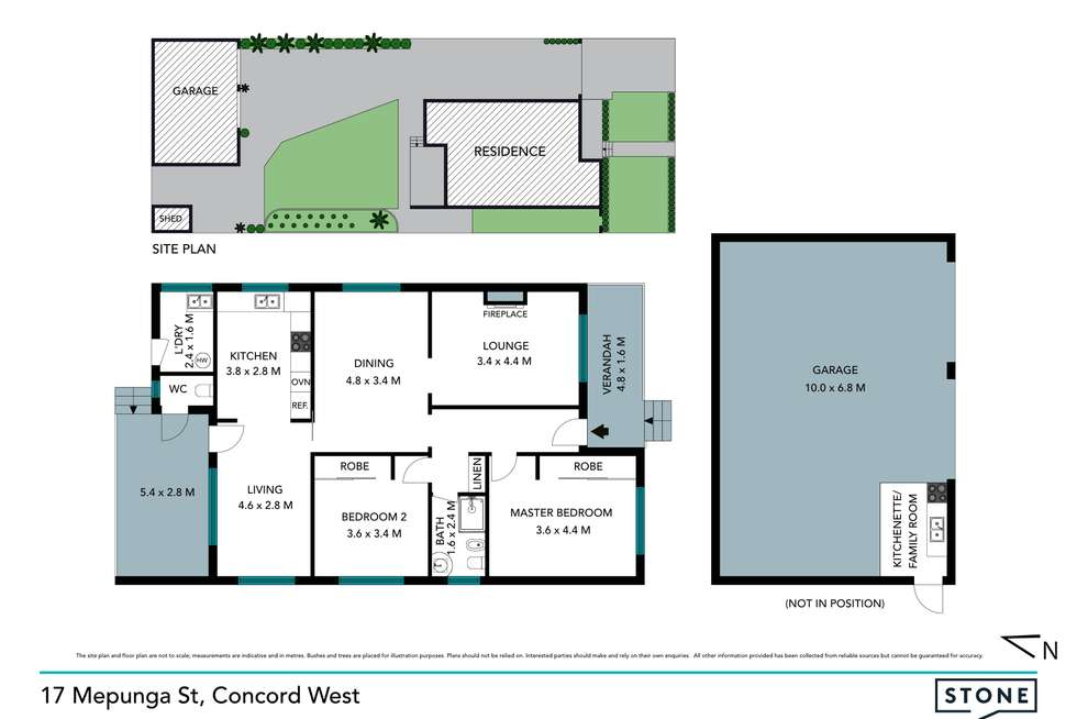 Floorplan of Homely house listing, 17 Mepunga Street, Concord West NSW 2138