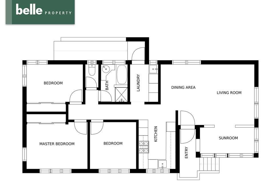 Floorplan of Homely house listing, 19 Emerald Street, Clontarf QLD 4019