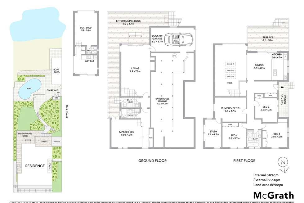 Floorplan of Homely house listing, 32 Dick Street, Henley NSW 2111