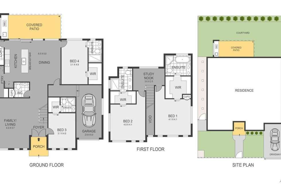 Floorplan of Homely house listing, 11 Concord Avenue, Concord West NSW 2138