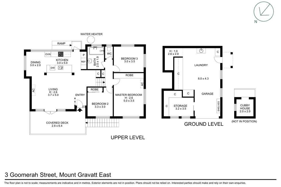 Floorplan of Homely house listing, 3 Goomerah Street, Mount Gravatt East QLD 4122