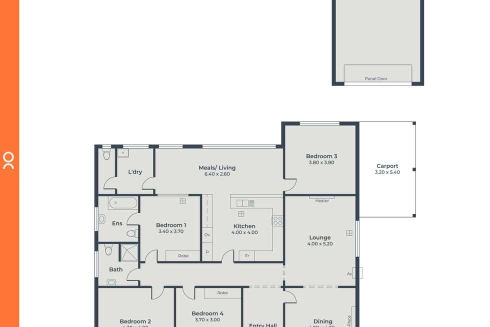 Floorplan of Homely house listing, 56 Cross Road, Myrtle Bank SA 5064