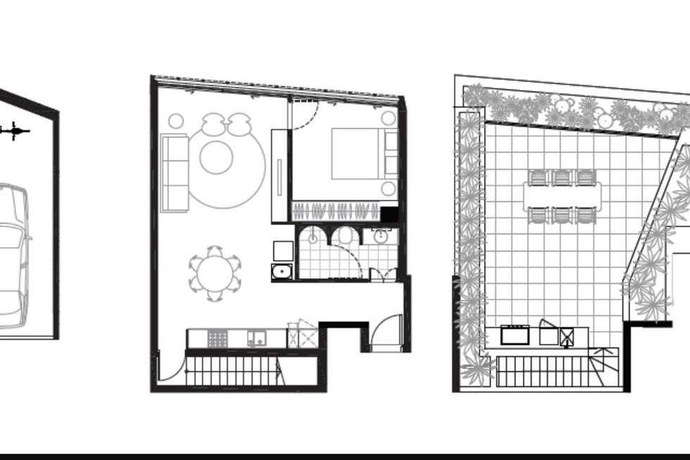 Floorplan of Homely apartment listing, 9/108 Miller Street, Pyrmont NSW 2009