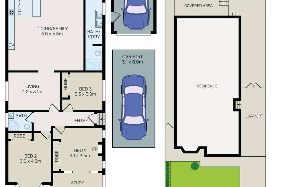 Floorplan of Homely house listing, 7 Charleston Avenue, Earlwood NSW 2206