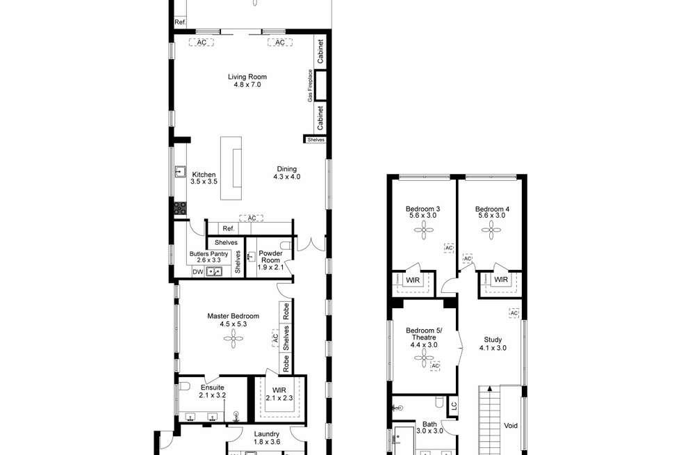 Floorplan of Homely house listing, 13D Yandra Street, Vale Park SA 5081