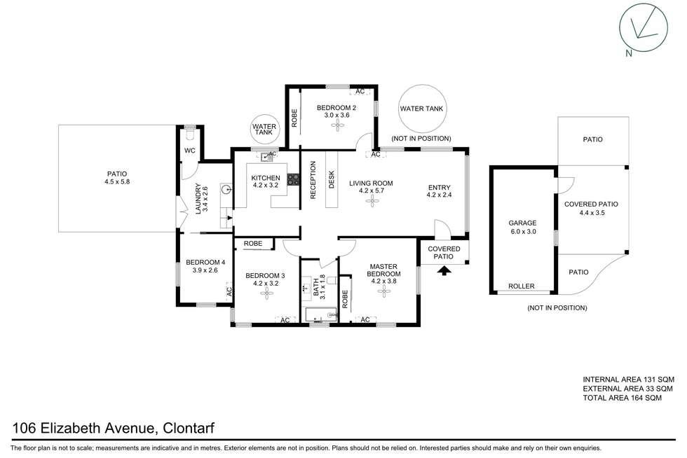 Floorplan of Homely house listing, 106 Elizabeth Avenue, Clontarf QLD 4019
