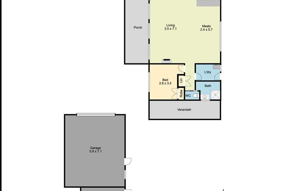 Floorplan of Homely house listing, 265 River Street, Corowa NSW 2646