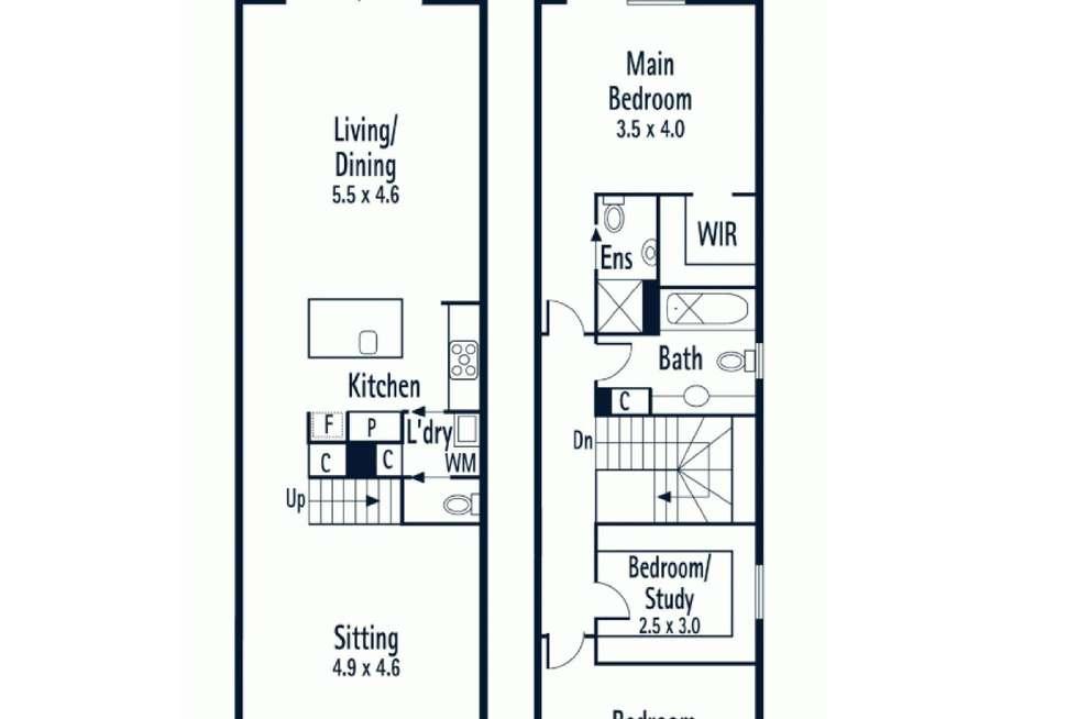 Floorplan of Homely house listing, 59 Esplanade West, Port Melbourne VIC 3207