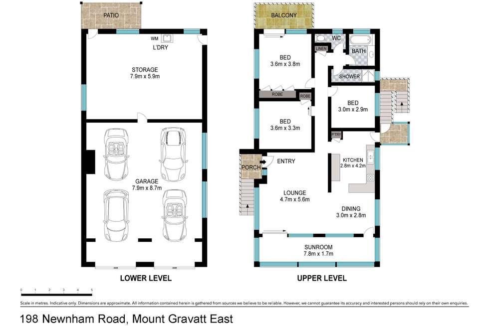 Floorplan of Homely house listing, 198 Newnham Road, Mount Gravatt East QLD 4122