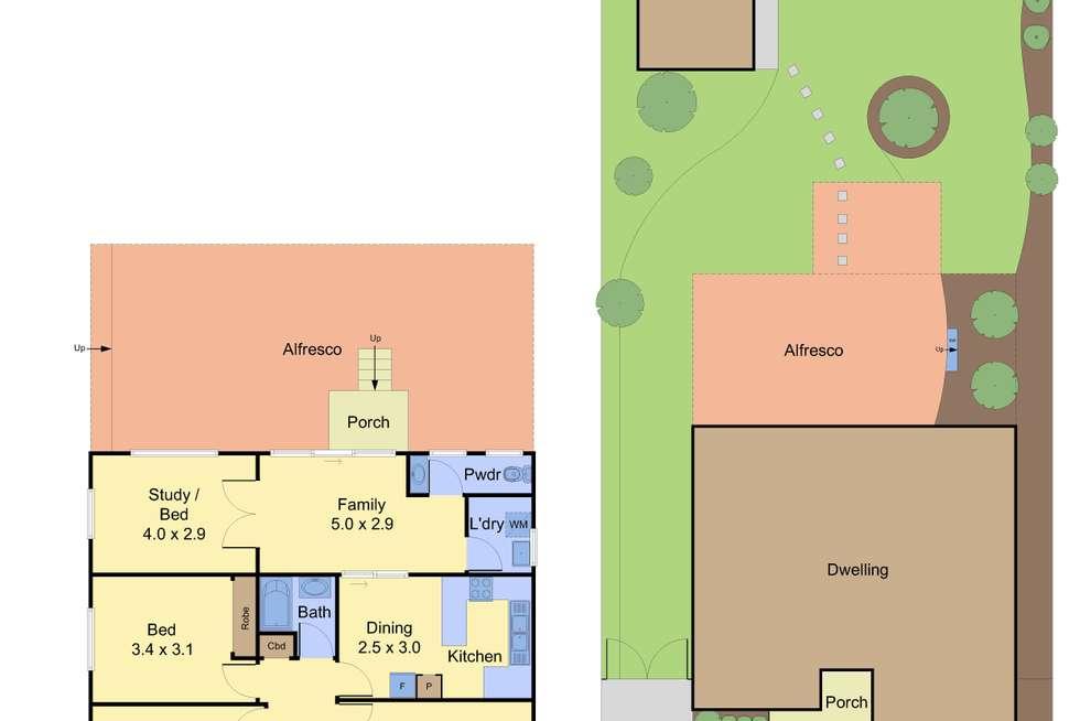 Floorplan of Homely house listing, 7 Adeline Street, Greensborough VIC 3088