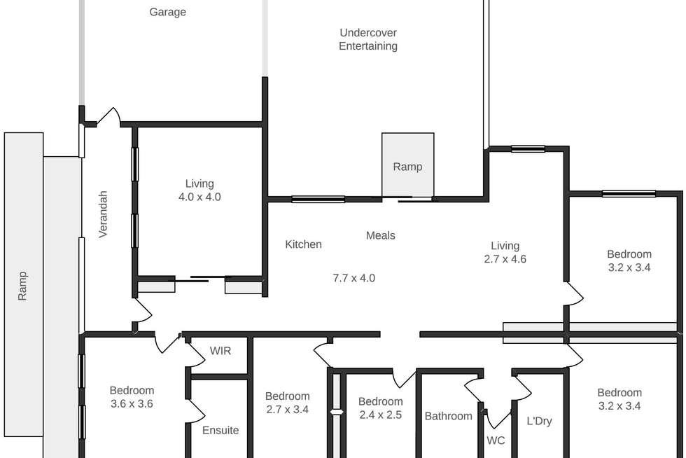 Floorplan of Homely house listing, 5 Mayfair Court, Mount Helen VIC 3350