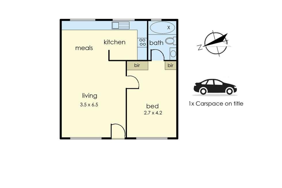 Floorplan of Homely unit listing, 8/282 Riversdale Road, Hawthorn East VIC 3123