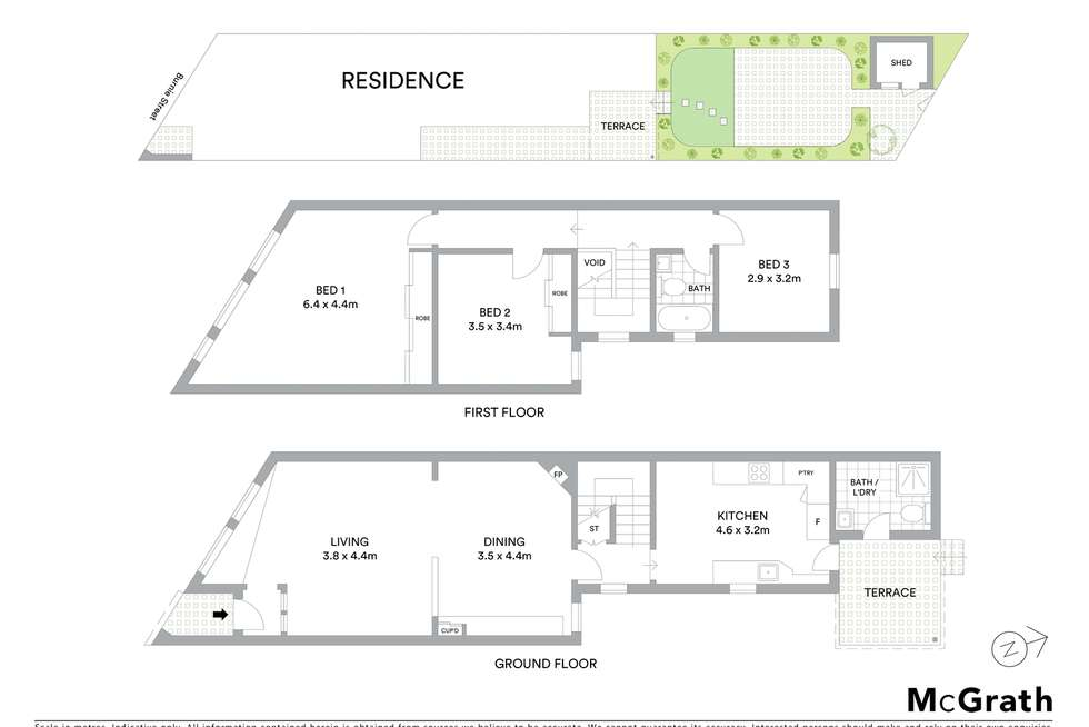 Floorplan of Homely house listing, 19 Burnie Street, Clovelly NSW 2031